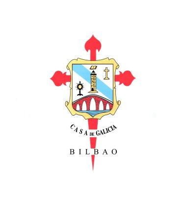 Foto: Escudo. Casa de Galicia en Bilbao