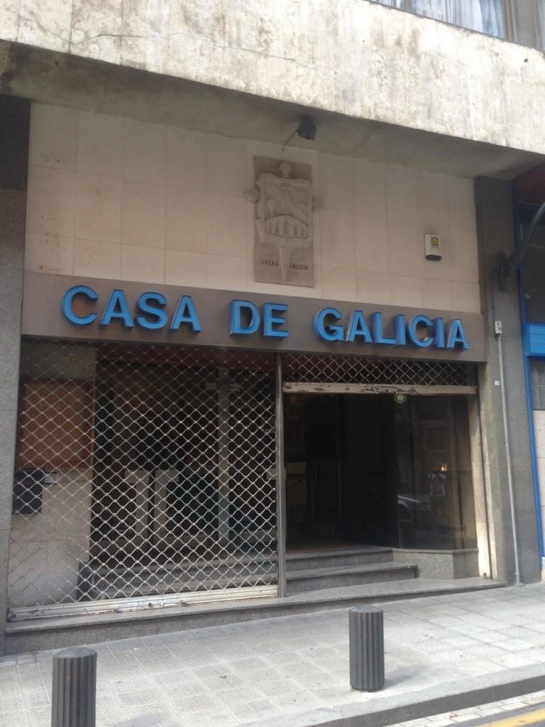 FOTO: Fachada de Casa de Galicia en Bilbao - Dónde estamos