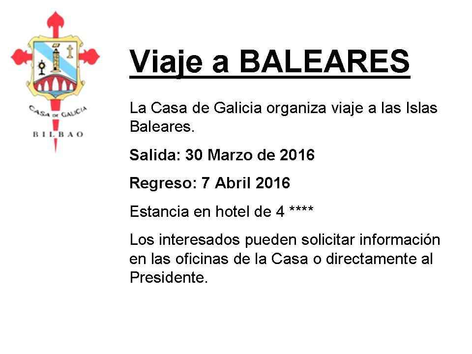 Viaje a Baleares
