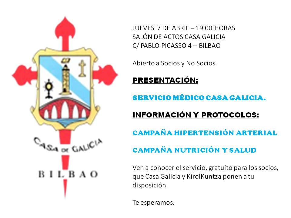 PRESENTACIÓN SERVICIO MEDICO CASA GALICIA